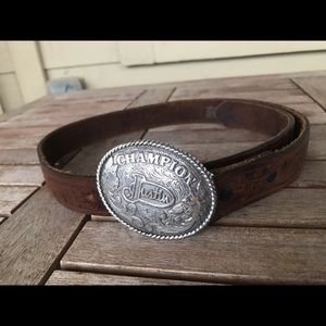 Little boys Justin Belt & Buckle